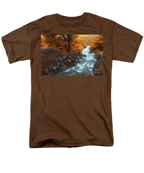Beauty Of The Nature Men's T-Shirt  (Regular Fit) by Charuhas Images