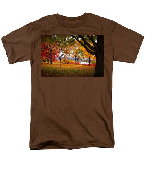 Beaver Park Men's T-Shirt  (Regular Fit) by Emmanuel Panagiotakis