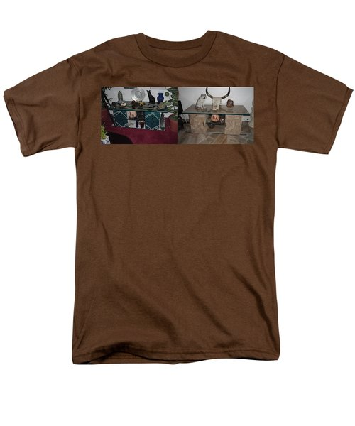 Before And After Men's T-Shirt  (Regular Fit) by Val Oconnor