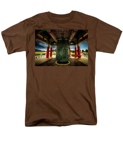 Men's T-Shirt  (Regular Fit) featuring the photograph Bell Of Friendship 2 by Joseph Hollingsworth