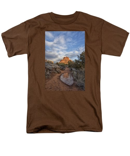 Men's T-Shirt  (Regular Fit) featuring the photograph Bell Rock Beckons by Tom Kelly
