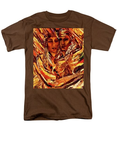 Men's T-Shirt  (Regular Fit) featuring the painting Beloved Woman by Dawn Fisher