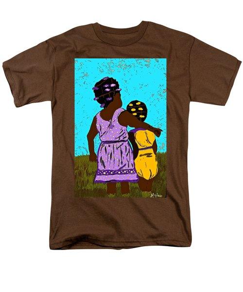 Best Friends Men's T-Shirt  (Regular Fit) by Saundra Myles