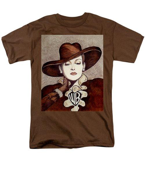 Bette Davis The Warner Brothers Years Men's T-Shirt  (Regular Fit) by Tara Hutton