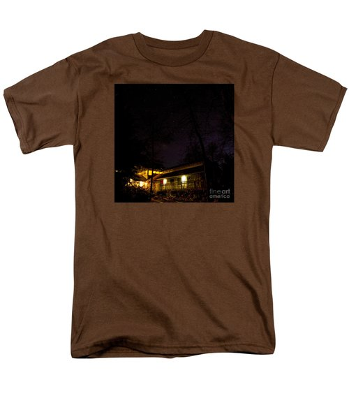 Big Dipper Over Hike Inn Men's T-Shirt  (Regular Fit)