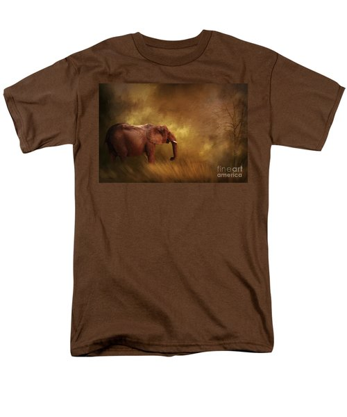 Men's T-Shirt  (Regular Fit) featuring the photograph Big Ed by Linda Blair