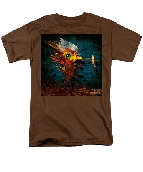 Men's T-Shirt  (Regular Fit) featuring the painting Big Hunter by Alexa Szlavics