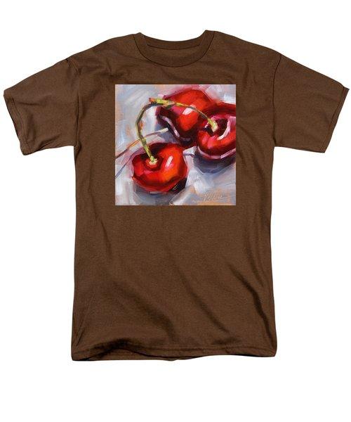 Bing Cherries Men's T-Shirt  (Regular Fit) by Tracy Male