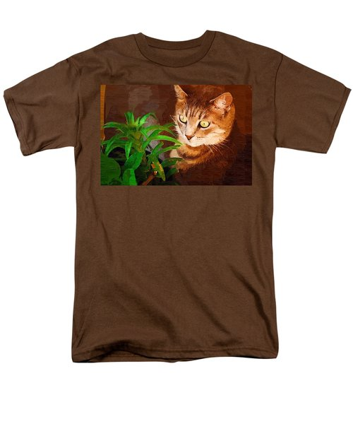 Men's T-Shirt  (Regular Fit) featuring the photograph Bink by Donna Bentley