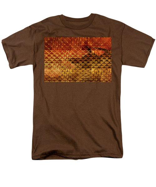 Black Mountain Men's T-Shirt  (Regular Fit) by Don Gradner