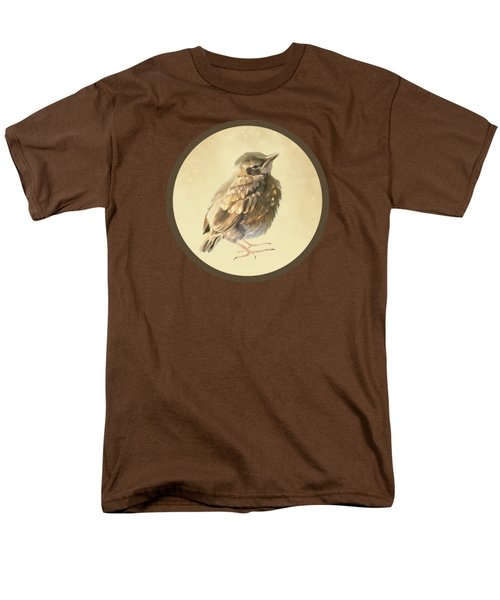 Blackbird Fledgeling Men's T-Shirt  (Regular Fit) by Bamalam  Photography