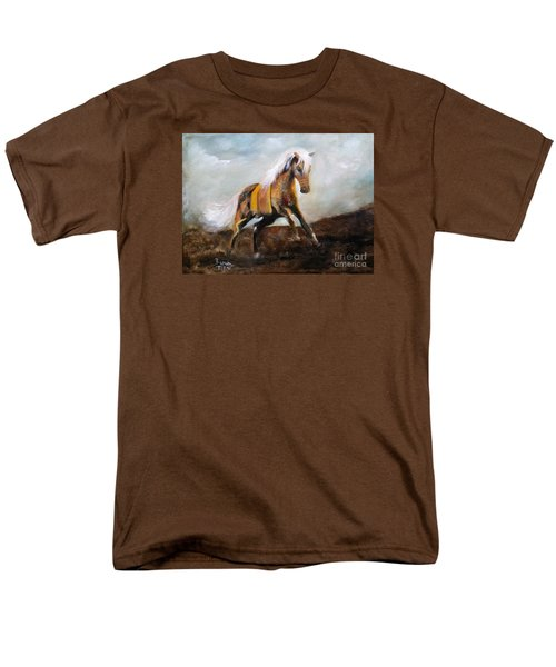 Blanket The War Pony Men's T-Shirt  (Regular Fit) by Barbie Batson