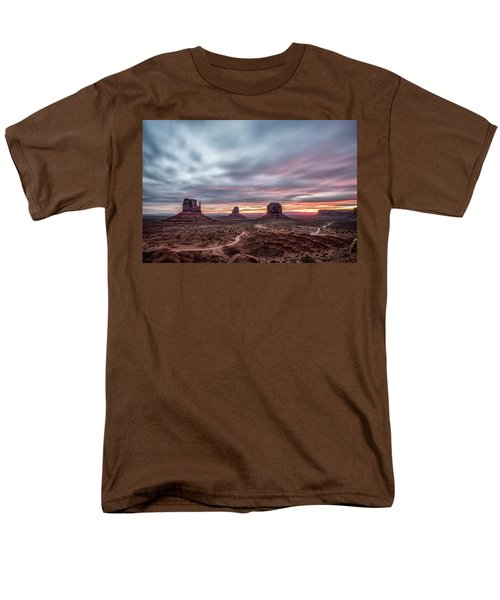 Blended Colors Over The Valley Men's T-Shirt  (Regular Fit) by Jon Glaser