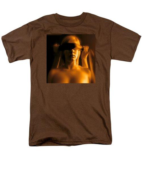 Blindfolded Men's T-Shirt  (Regular Fit) by Louis Ferreira