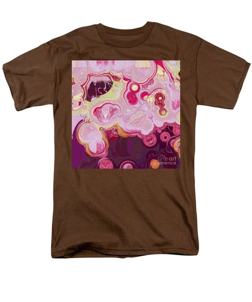 Men's T-Shirt  (Regular Fit) featuring the digital art Blobs - 15c7b by Variance Collections