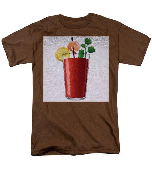 Bloody Mary Emoji Men's T-Shirt  (Regular Fit) by  Judy Bernier