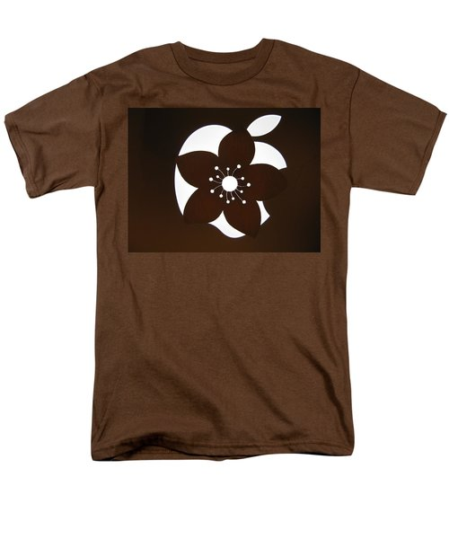 Blooming Apple Mac Men's T-Shirt  (Regular Fit) by Ausra Huntington nee Paulauskaite