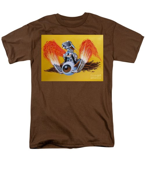Blown Eyeball Men's T-Shirt  (Regular Fit) by Alan Johnson