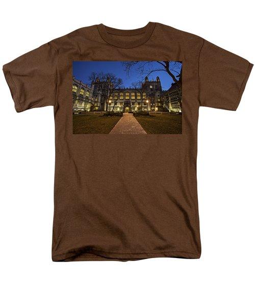Blue Hour Harper Men's T-Shirt  (Regular Fit) by CJ Schmit
