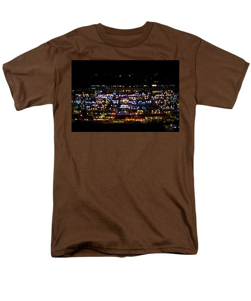 Blurred City Lights  Men's T-Shirt  (Regular Fit) by Jingjits Photography