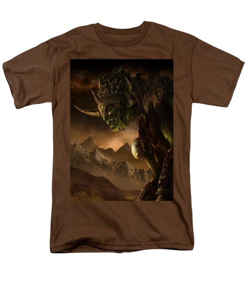 Bolg The Goblin King Men's T-Shirt  (Regular Fit) by Curtiss Shaffer