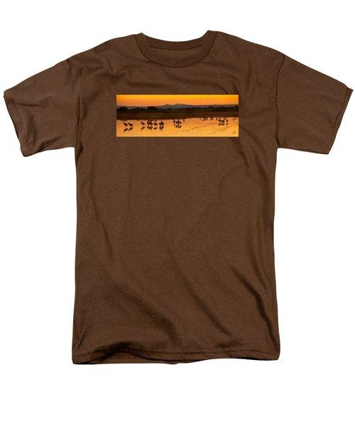 Bosque Sunrise Men's T-Shirt  (Regular Fit) by Alan Vance Ley