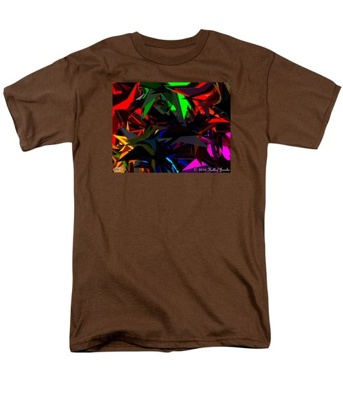 Men's T-Shirt  (Regular Fit) featuring the painting Brave by Holley Jacobs