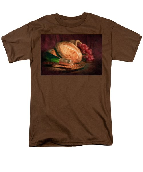 Men's T-Shirt  (Regular Fit) featuring the photograph Bread And Wine by Tom Mc Nemar