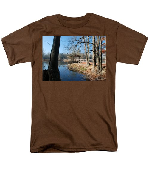 Brick Pond Park Men's T-Shirt  (Regular Fit) by Kay Lovingood