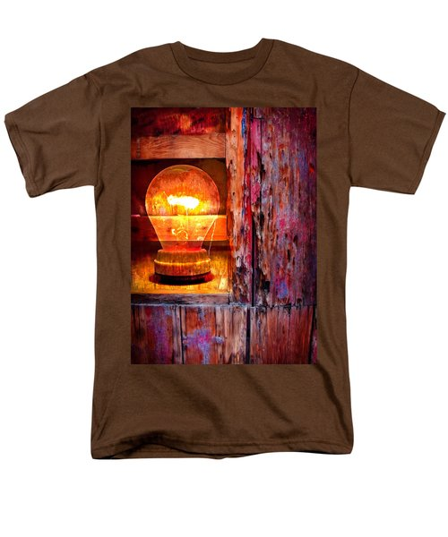 Men's T-Shirt  (Regular Fit) featuring the photograph Bright Idea by Skip Hunt