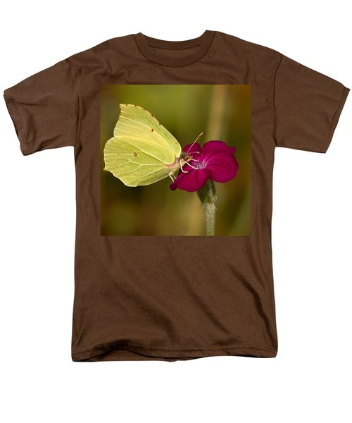 Men's T-Shirt  (Regular Fit) featuring the photograph Brimstone 1 by Jouko Lehto