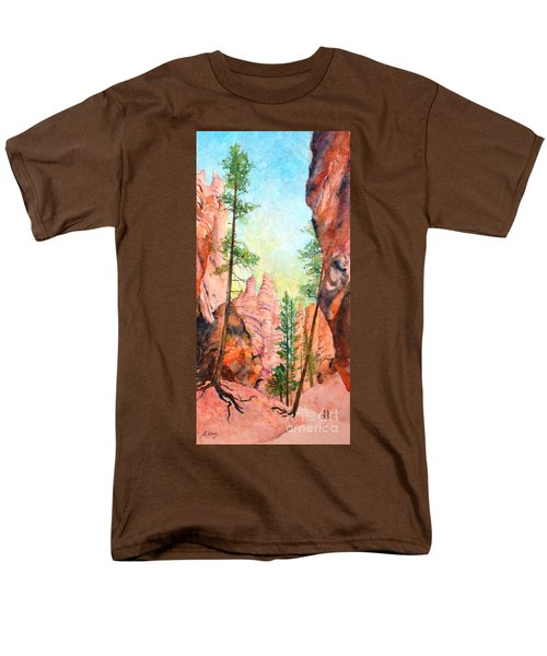 Bryce Canyon #2 Men's T-Shirt  (Regular Fit) by Betty M M Wong