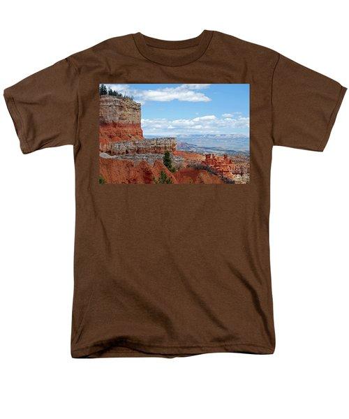 Bryce Canyon Men's T-Shirt  (Regular Fit) by Nancy Landry