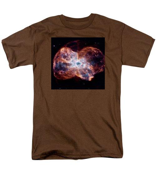 Bubble Nebula Men's T-Shirt  (Regular Fit) by Hubble Space Telescope