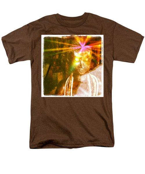 Buddha Light Men's T-Shirt  (Regular Fit) by Roselynne Broussard