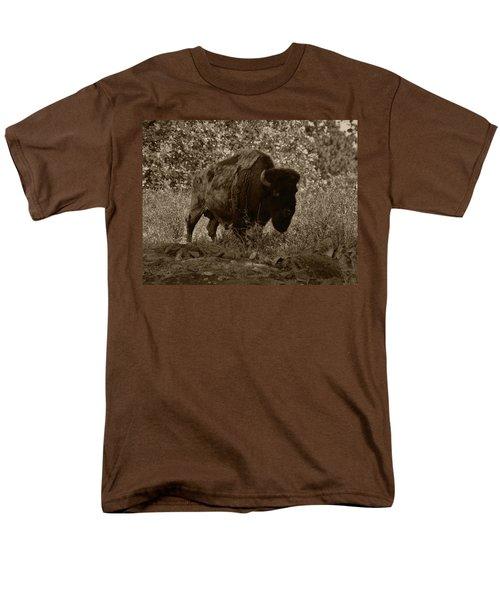 Buffalo Junction Men's T-Shirt  (Regular Fit) by B Wayne Mullins