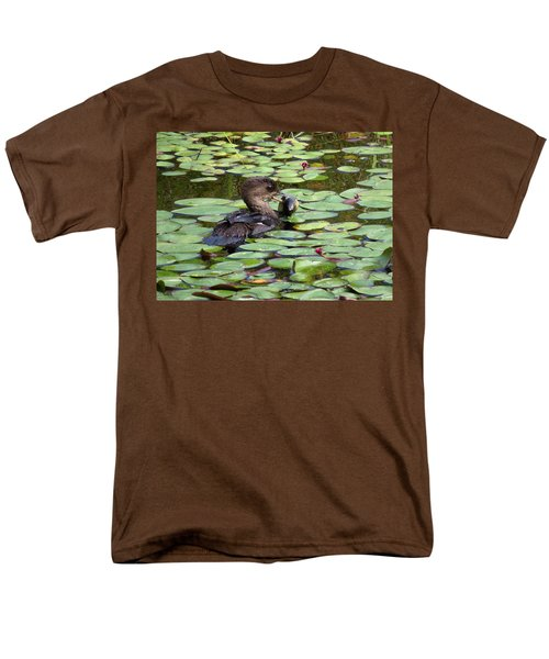 Bullfrog For Breakfast Men's T-Shirt  (Regular Fit) by I'ina Van Lawick