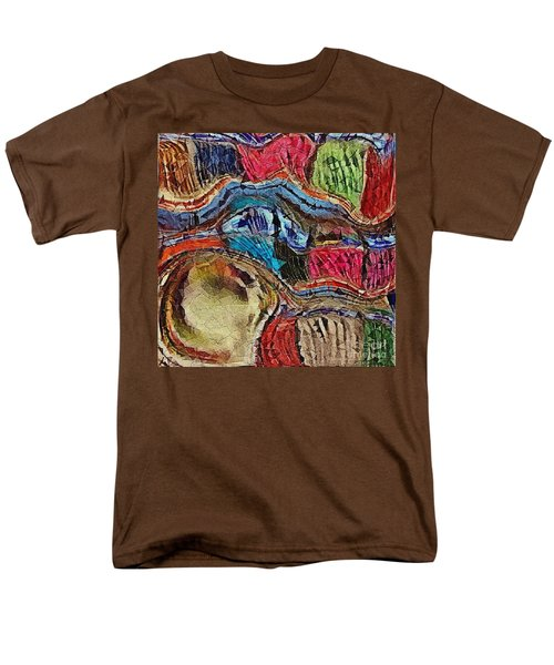 Men's T-Shirt  (Regular Fit) featuring the photograph Bumps In The Road by Kathie Chicoine