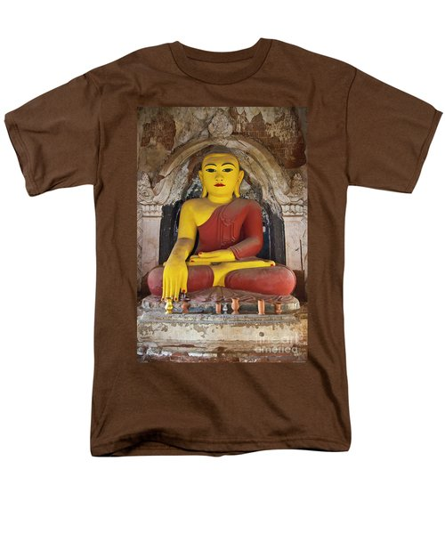 Men's T-Shirt  (Regular Fit) featuring the photograph Burma_d1150 by Craig Lovell