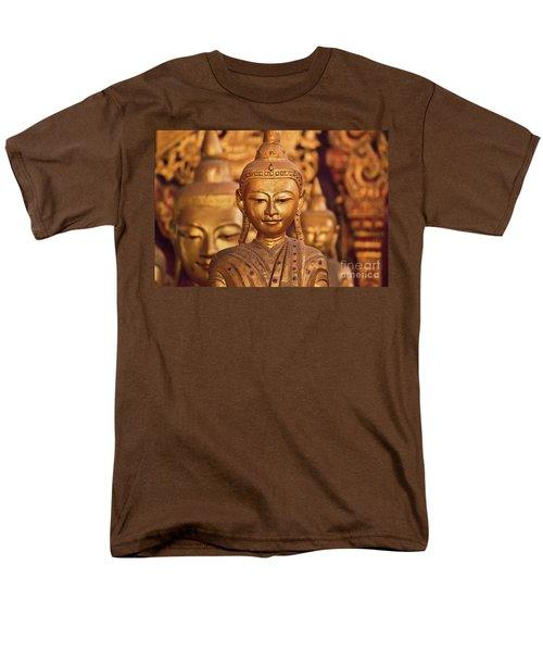 Men's T-Shirt  (Regular Fit) featuring the photograph Burma_d579 by Craig Lovell