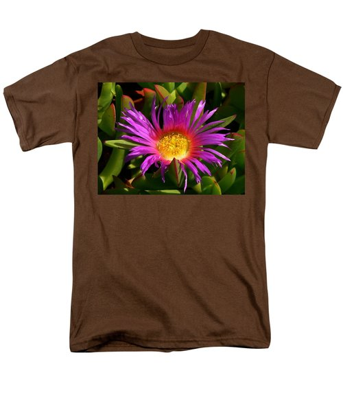 Men's T-Shirt  (Regular Fit) featuring the photograph Burst Of Beauty by Debbie Karnes