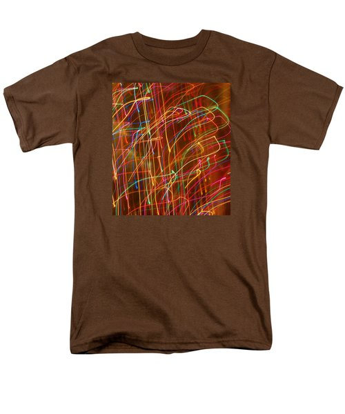 Men's T-Shirt  (Regular Fit) featuring the photograph Bursting With Colors by Ramona Whiteaker