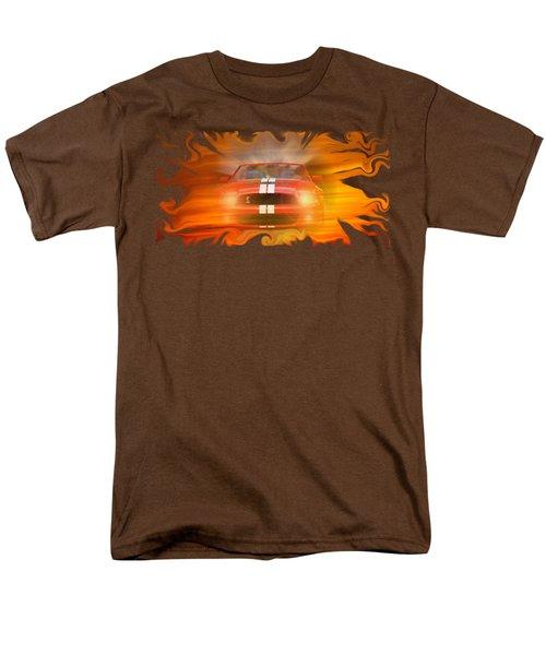 Bustin Thru Men's T-Shirt  (Regular Fit) by David and Lynn Keller