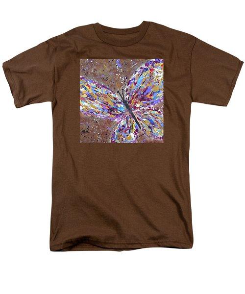Butterfly Magic Men's T-Shirt  (Regular Fit)