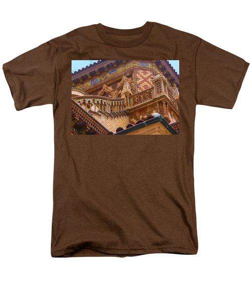 Ca' D'zan Detail Men's T-Shirt  (Regular Fit) by Susan Molnar