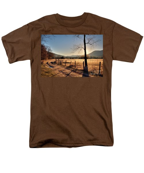 Cades Cove, Spring 2017,i Men's T-Shirt  (Regular Fit) by Douglas Stucky