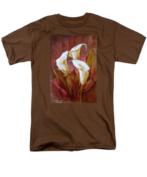 Cala Lillies Bouquet Men's T-Shirt  (Regular Fit) by J- J- Espinoza