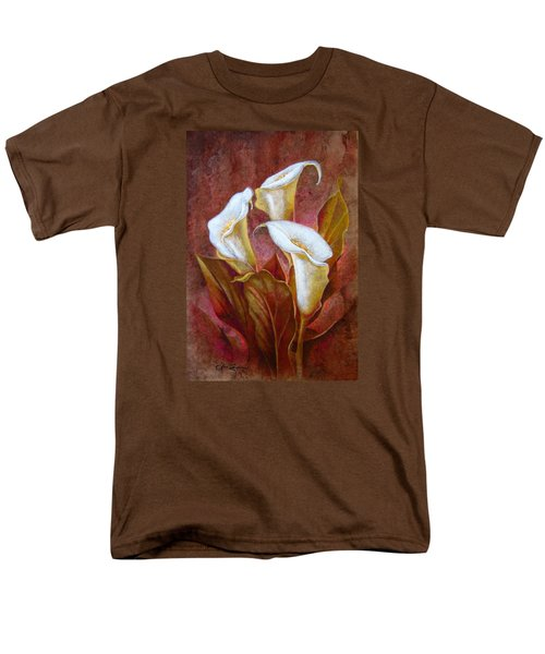 Cala Lillies Bouquet Men's T-Shirt  (Regular Fit)