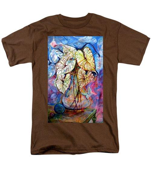 Caladium Glass Creation Men's T-Shirt  (Regular Fit)
