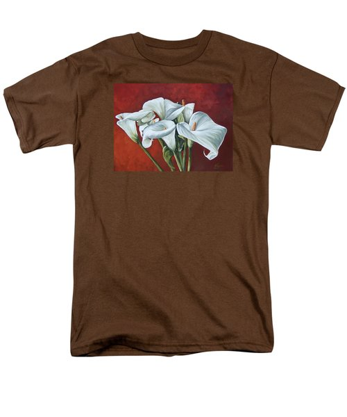 Men's T-Shirt  (Regular Fit) featuring the painting Calas by Natalia Tejera